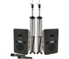 Go Getter Deluxe AIR Package 2 with 2 wireless microphones and wireless companion speaker