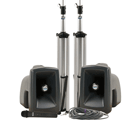 MegaVox Deluxe Package 1 with hardwired companion speaker