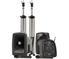MegaVox Deluxe AIR Package 2 with 2 wireless microphones and wireless companion speaker