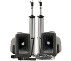 MegaVox Deluxe Package 2 with hardwired companion speaker