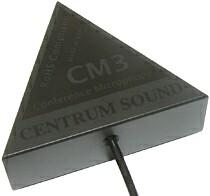 CM-3 Conference Microphone for ALDs and Voice Recording