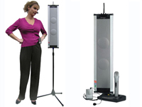 FrontRow portable sound field system