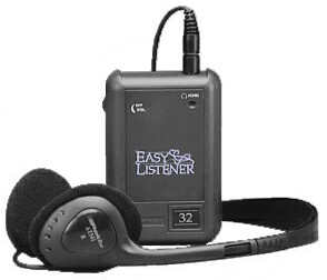 Easy Listener Personal FM Receiver, PE300R assistive listening device