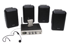 Easy Listener Sound Field System with 4 mini speakers