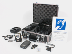 FM ADA KIT 37 rechargeable portable assistive listening system