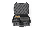 12-Bay charger/carry case for DW 400 series