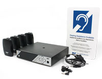 PPA 457 NET Large area multi-channel hearing assistance system