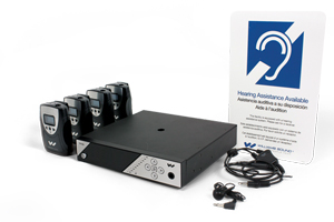 PPA 458 NET Large area multi-channel hearing assistance system