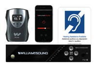 FM 557 FM + Wi-Fi Large area multi-channel assistive listening system