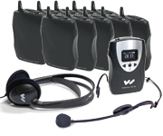 TGS PRO MULTI tour guide - translation and hearing assistance system